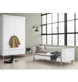 Oliver Furniture Wood Mini+ Juniorbett, weiß-Eiche