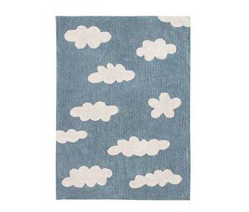 Lorena Canals Teppich Wolken blau