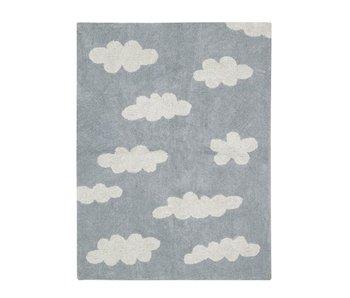 Lorena Canals Teppich Wolken grau