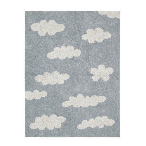 Lorena Canals Teppich Wolken 120 x 160 cm - grau