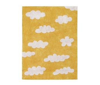 Lorena Canals Teppich Wolken senfgelb