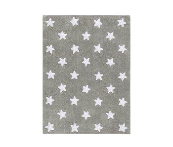 Lorena Canals Teppich Sterne grau
