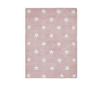 Lorena Canals Teppich Sterne rosa