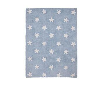 Lorena Canals Teppich Sterne blau