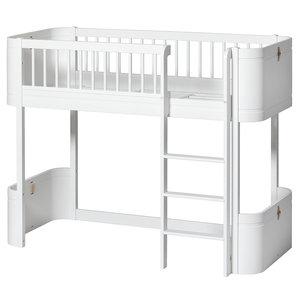 Oliver Furniture Mini+ low loft bed