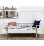 Oliver Furniture Umbau zum Bettsofa Wood weiß/Eiche