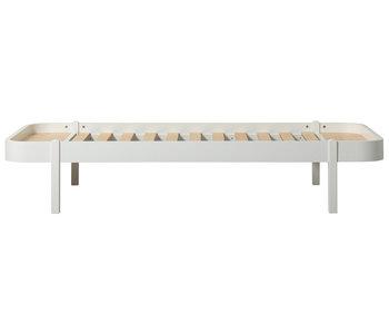 Oliver Furniture Wood Lounger 90 x 200 cm, weiß