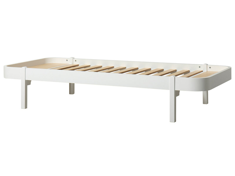 Oliver Furniture Wood Lounger 90 x 200 cm, weiß