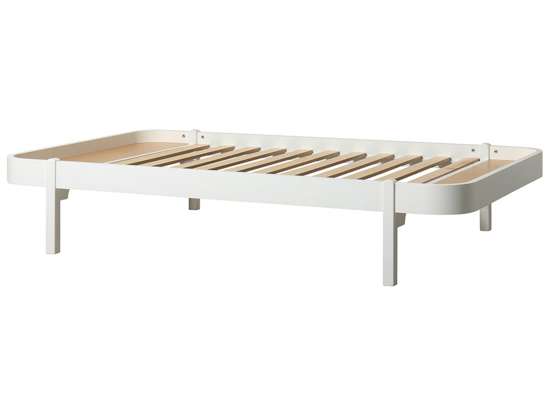 Oliver Furniture Wood Lounger 120 x 200 cm, weiß
