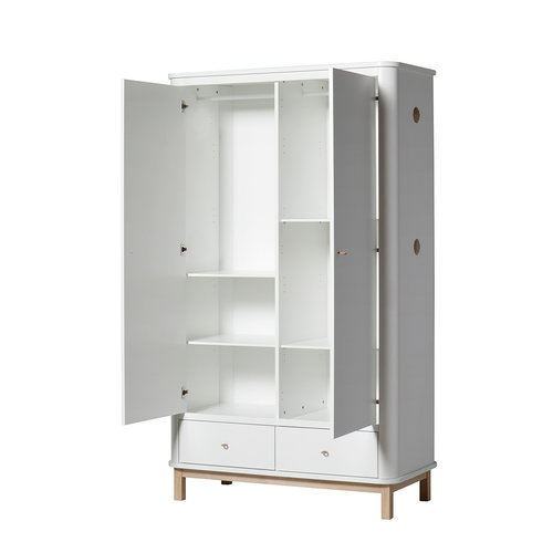 Oliver Furniture 2 extra Einlegeböden Wood Kleiderschrank