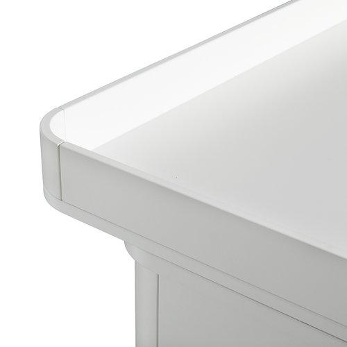 Oliver Furniture Wickelplatte Wood klein , weiß