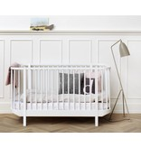 Oliver Furniture Baby- und Kinderbett Wood Collection, weiß