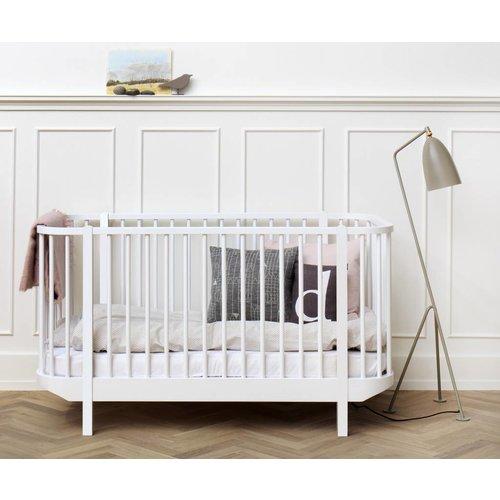 Oliver Furniture Baby- und Kinderbett Wood Collection, weiß