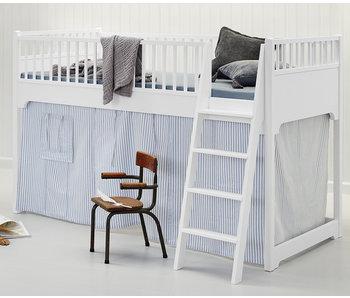 Oliver Furniture Halbhohes Hochbett weiß 90 x 200 cm