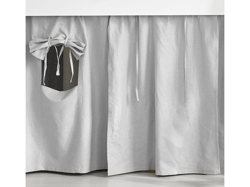 Oliver Furniture Wood Vorhang  Mini+ hell grau