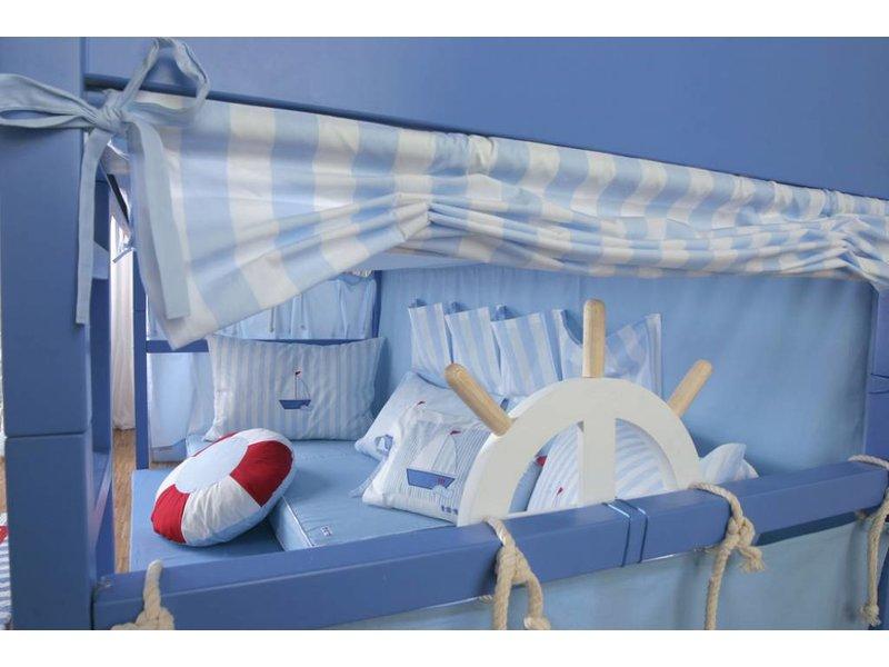 Annette Frank Bettnest Kids Segelboot 90x200 / 30 cm