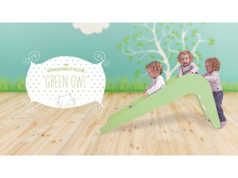 Jupiduu Kinderrutsche Green Owl grün