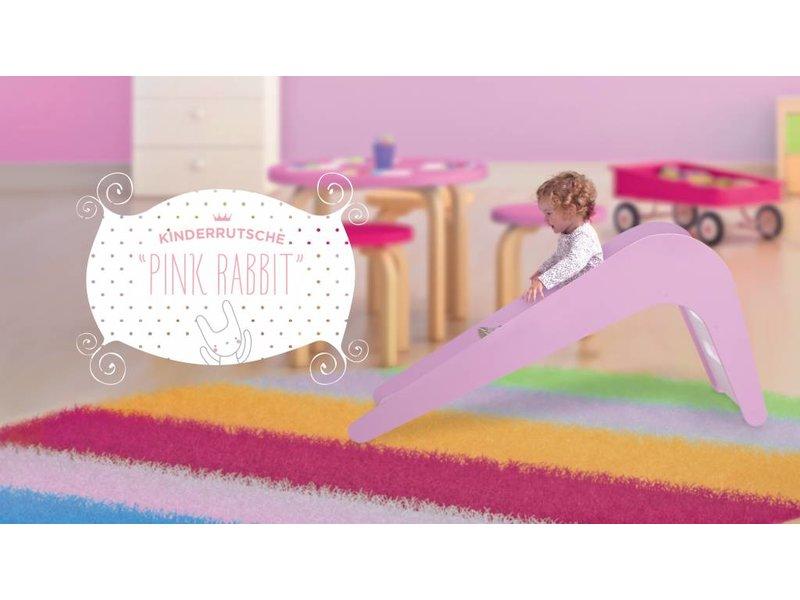 Jupiduu Kinderrutsche Pink Rabbit rosa