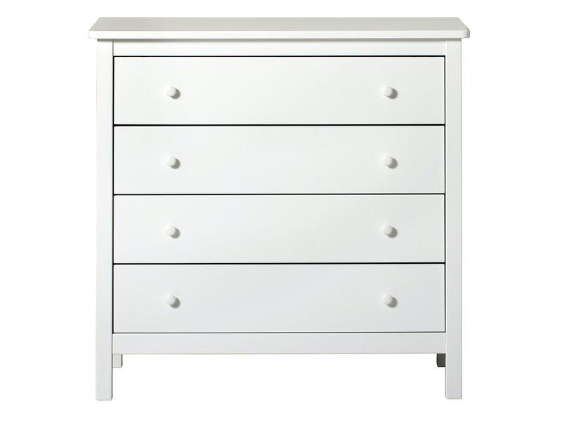 Oliver Furniture Seaside Kommode, weiß