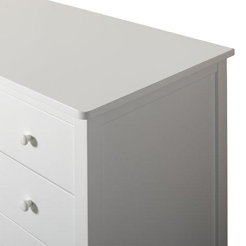 Oliver Furniture Seaside Kommode mit Ausziehgitter, weiß