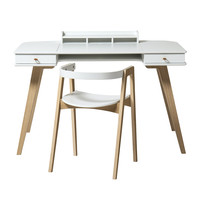 Wood Schreibtisch mit Stuhl 72,6 cm