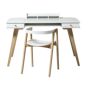 Oliver Furniture Wood desk with chair 72.6 cm