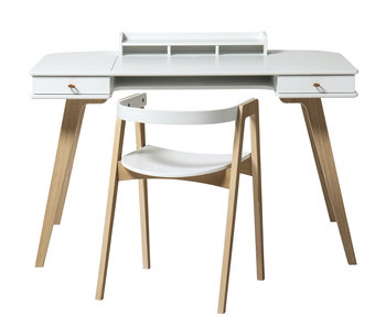 Oliver Furniture Wood desktop white oak - Copy - Copy
