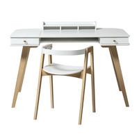 Wood Schreibtisch mit Stuhl 66 cm