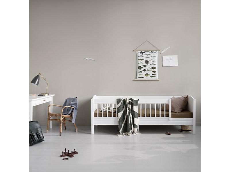 Oliver Furniture Baby- und Kinderbett Wood Collection, weiß-Eiche - Copy - Copy