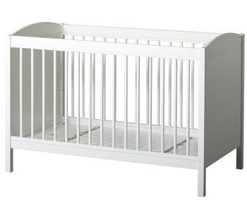 Oliver Furniture Baby- und Kinderbett Wood Collection, weiß-Eiche - Copy