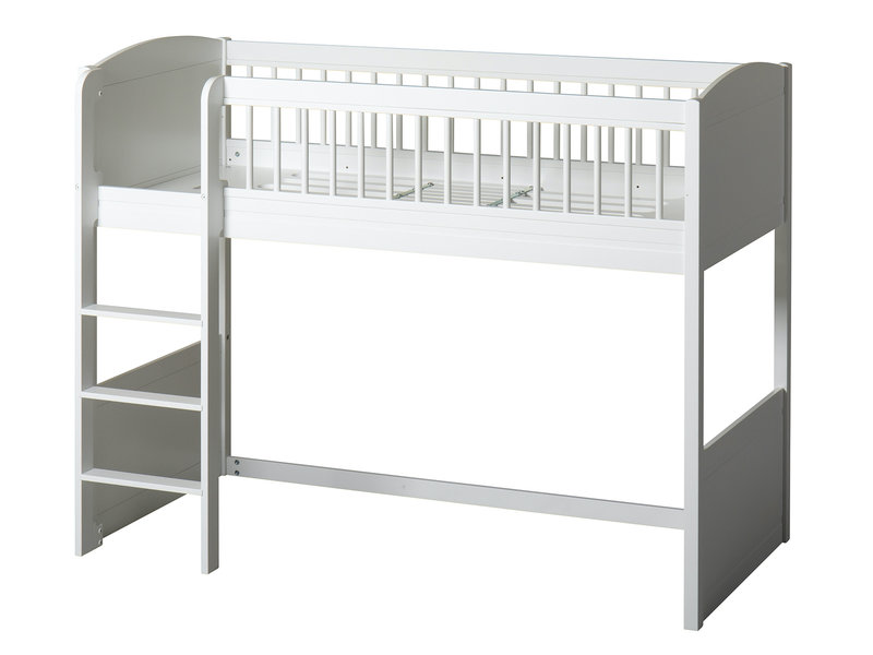 Oliver Furniture Baby- und Kinderbett Wood Collection, weiß-Eiche - Copy - Copy - Copy