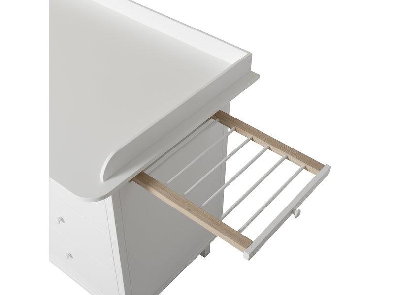 Oliver Furniture Seaside Wickelkommode mit 6 Schubladen weiß