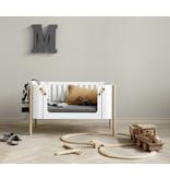 Oliver Furniture Wood Side bed, white-oak