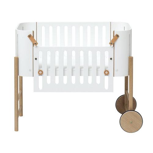 Oliver Furniture Wood Co-Sleeper, white-oak