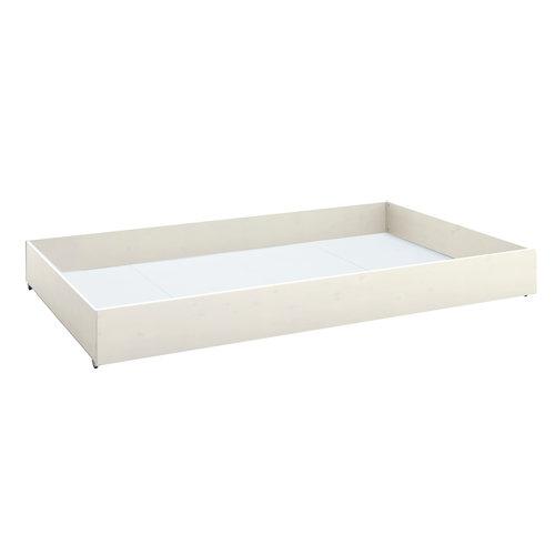 LIFETIME Großer Bettkasten für Basisbett Whitewash