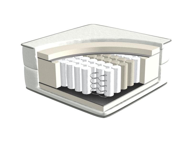 LIFETIME Matratze Pocket Feder 120 x 200 cm
