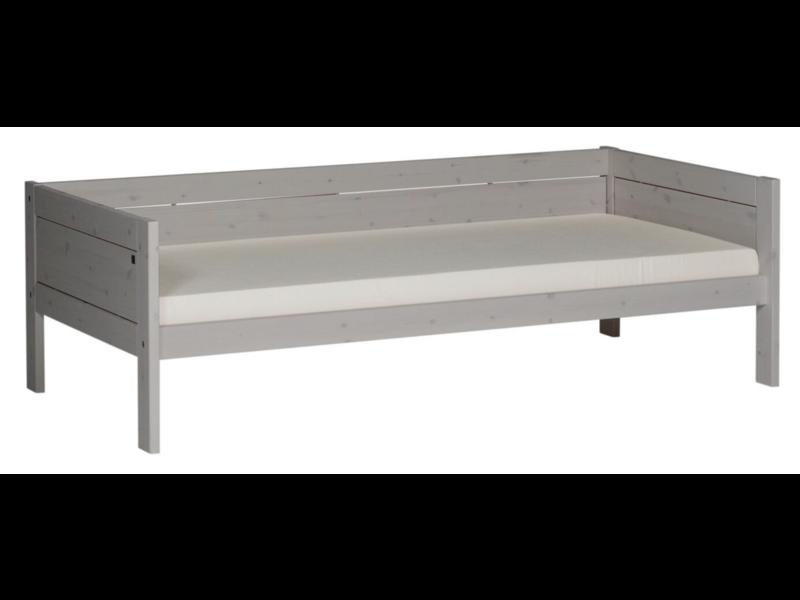 LIFETIME Basisbett 90 x 200 greywash