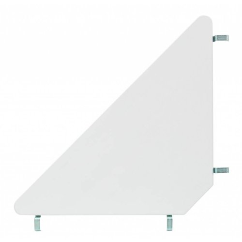 LIFETIME Half height bed 90 x 200 with straight ladder in white