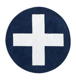 LIFETIME Runder Teppich Blue X ø133 cm