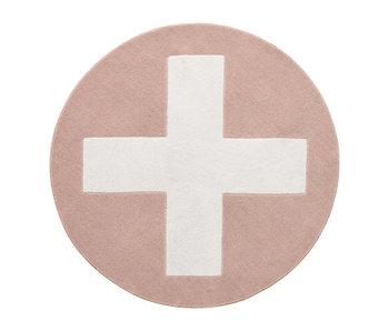 LIFETIME Round carpet Pink X