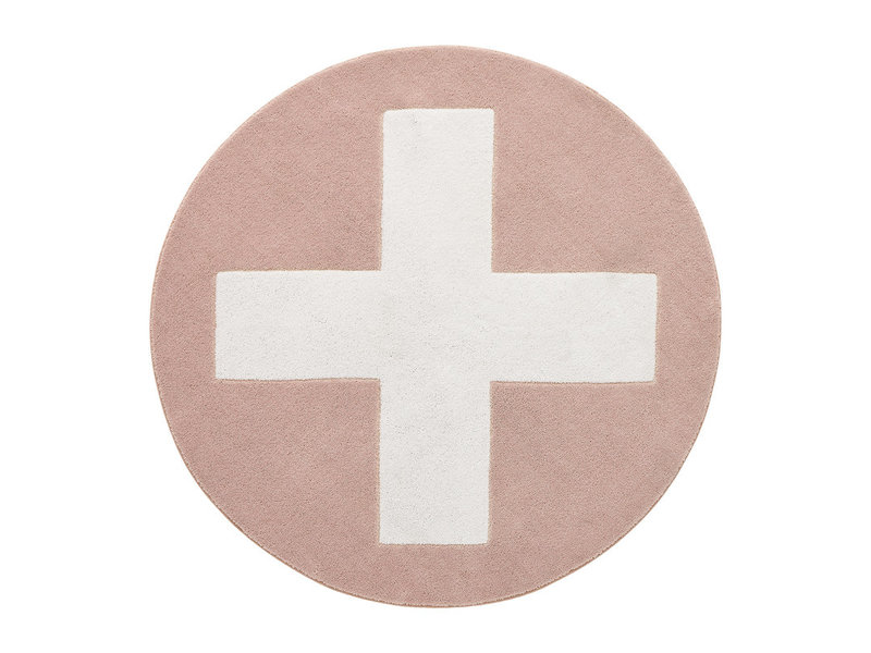 LIFETIME Runder Teppich Pink X ø133 cm