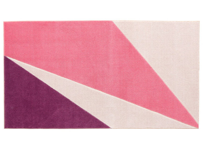 LIFETIME Teppich Wild Pink 100 x 180 cm