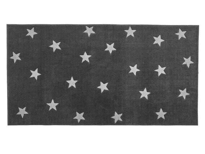 LIFETIME Carpet Grey & Stars 100 x 180 cm