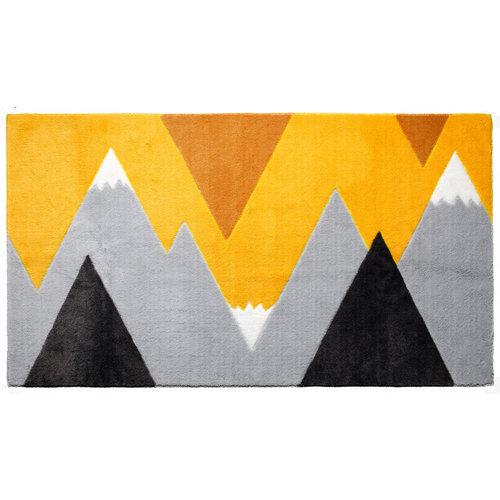 LIFETIME Teppich Mountain Trip Yellow 100 x 180 cm