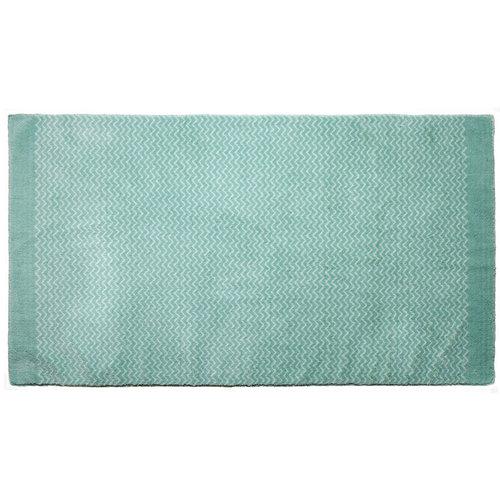 LIFETIME Teppich Zigzag Green 100 x 180 cm