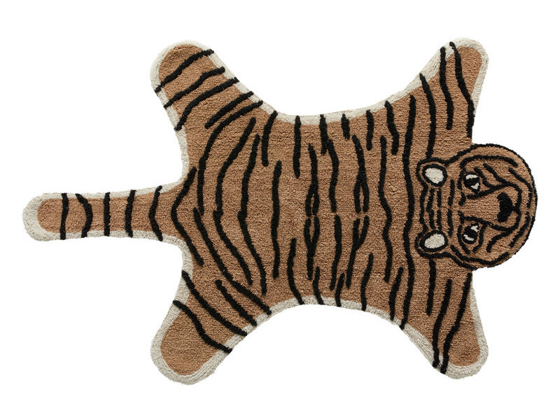 LIFETIME Carpet Wild Life Tiger 100 x 150 cm