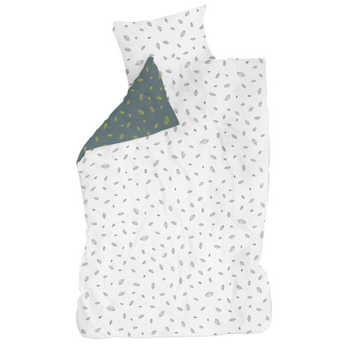 LIFETIME Bed linen Leaves 135 x 200 cm