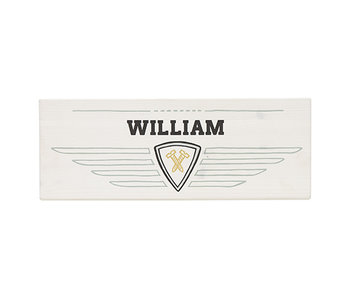 LIFETIME Name badge Road Trip Race