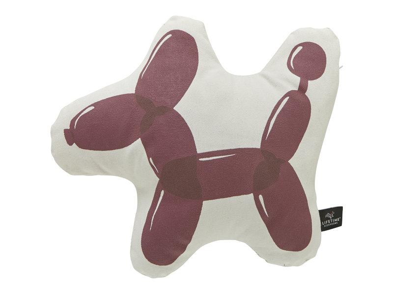 LIFETIME Formkissen Balloon Dog 45 x 40 cm