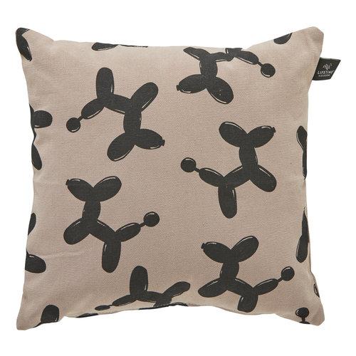 LIFETIME square pillow Dogs 45 x 45 cm